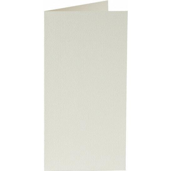 (No. 327903) 6x kaart dubbel staand Original 115x175mm anjerwit
