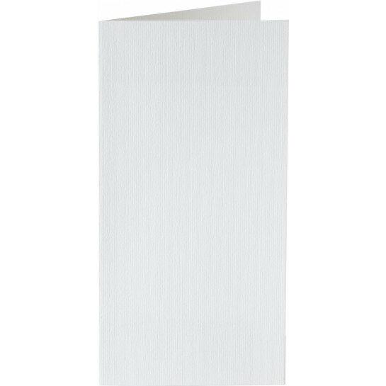 (No. 327930) 6x kaart dubbel staand Original 115x175mm hagelwit