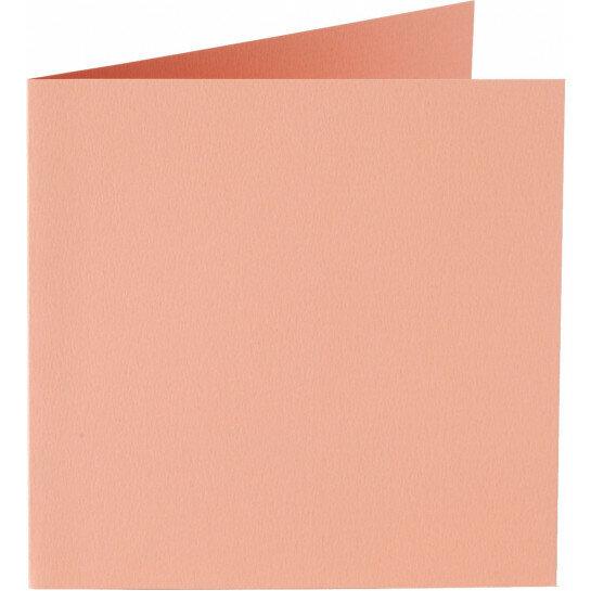 (No. 310924) 6x kaart dubbel Original 132x132mm abrikoos 200 grams (FSC Mix Credit)