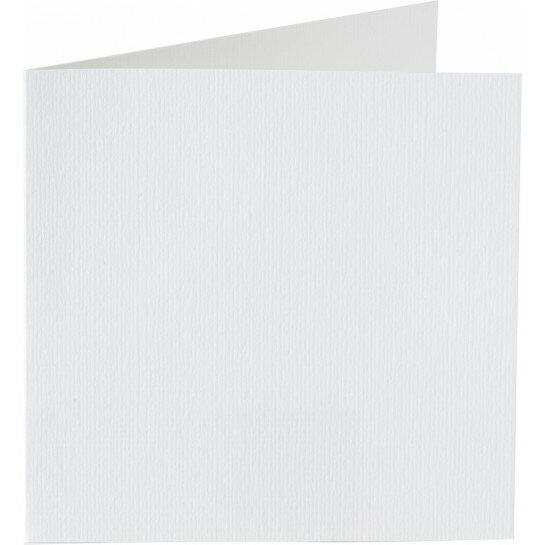 (No. 265930) 50x kaart dubbel staand Original 120x132mm hagelwit 200 grams (FSC Mix Credit)