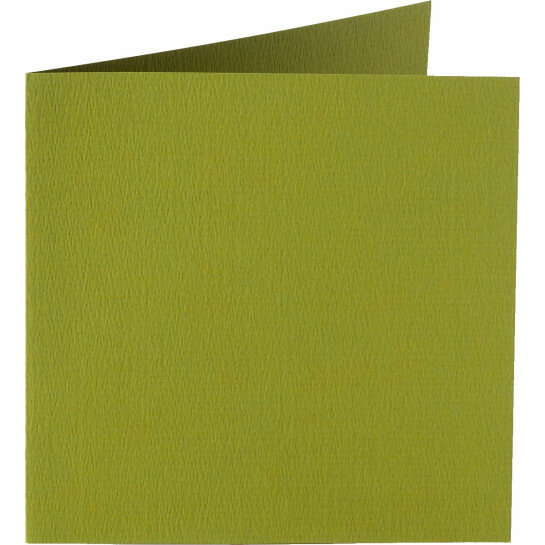 (No. 310951) 6x kaart dubbel Original 132x132mm mosgroen 200 grams (FSC Mix Credit)