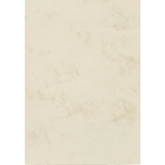 (No. 30162) 6x karton Marble 210x297mm-A4 ivoor 200 grams
