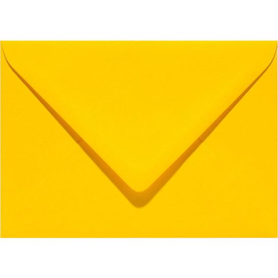 (No. 263910) 50x envelop Original 125x140mm dottergeel 105 grams (FSC Mix Credit)