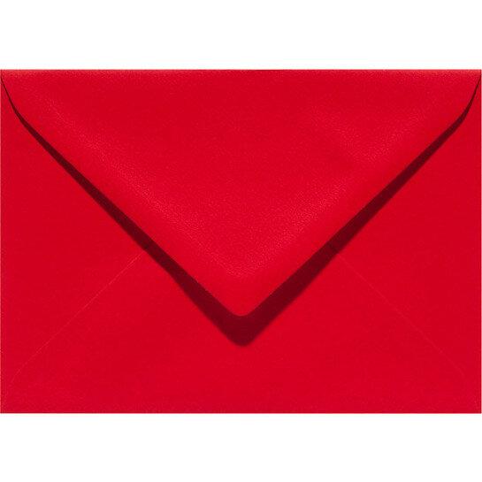 (No. 263918) 50x envelop Original 125x140mm rood 105 grams (FSC Mix Credit)