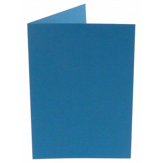 (No. 206965) 50x kaart dubbel staand Original 148x210mm A5 korenblauw 200 grams (FSC Mix Credit)