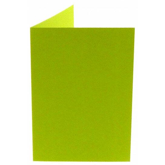 (No. 206967) 50x kaart dubbel staand Original 148x210mm A5 appelgroen 200 grams (FSC Mix Credit)