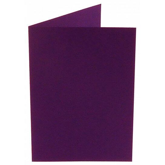 (No. 206968) 50x kaart dubbel staand Original 148x210mm A5 violetta 200 grams (FSC Mix Credit)