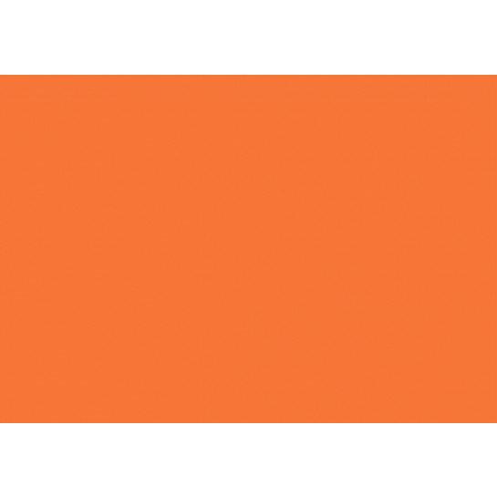 (No. 2098308) Hobbykarton Oranje - 270 grams - 500x700mm - 50 vellen