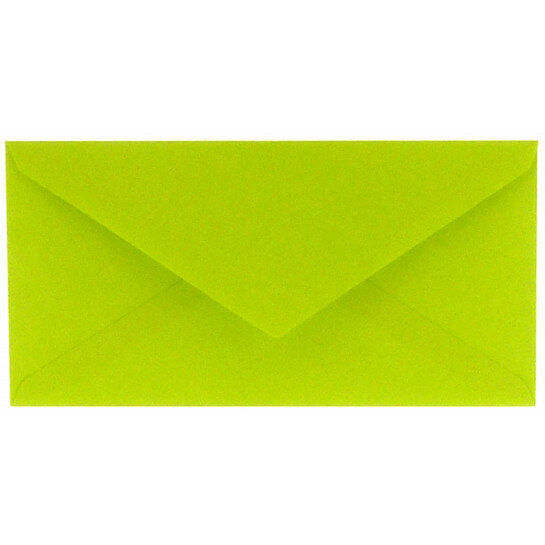 (No. 238967) 50x envelop 110x220mm DL Original appelgroen 105 grams (FSC Mix Credit