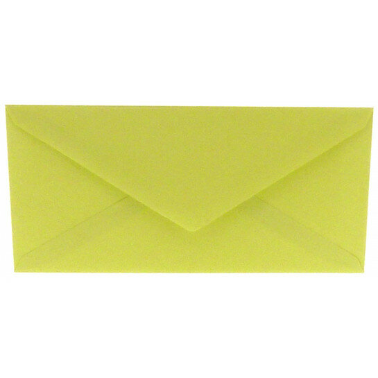 (No. 238970) 50x envelop 110x220mm DL Original zachtgroen 105 grams (FSC Mix Credit