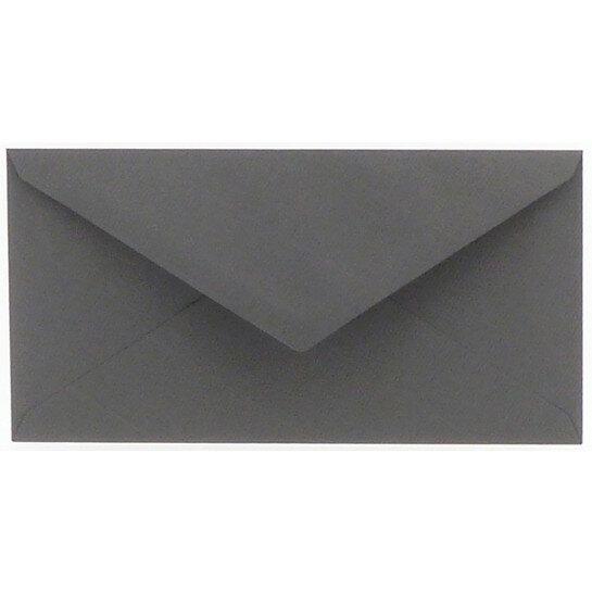 (No. 238971) 50x envelop 110x220mm DL Original donkergrijs 105 grams (FSC Mix Credit