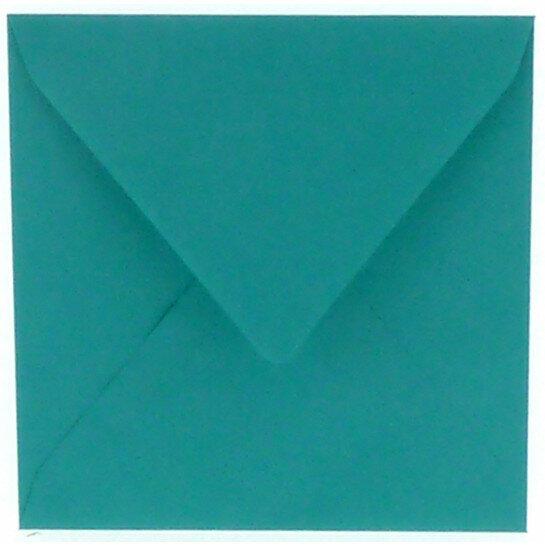 (No. 240966) 50x envelop 160x160mm Original turquoise 105 grams (FSC Mix Credit)