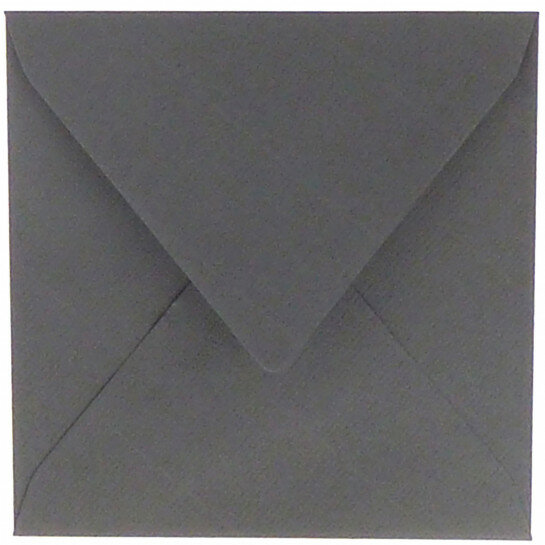 (No. 258971) 50x envelop Original - 140x140mm donkergrijs 105 grams (FSC Mix Credit)