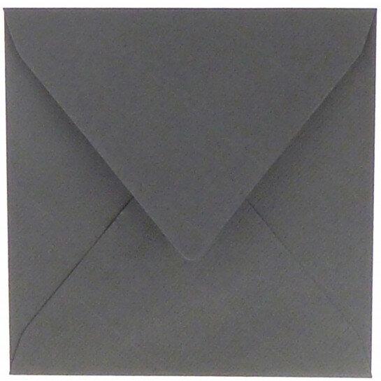 (No. 240971) 50x envelop 160x160mm Original donkergrijs 105 grams (FSC Mix Credit)