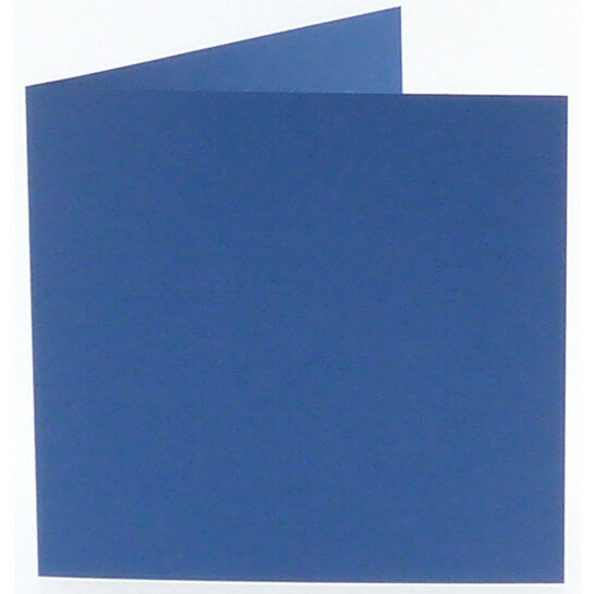 (No. 310972) 6x kaart dubbel Original 132x132mm royal blue 200 grams (FSC Mix Credit)