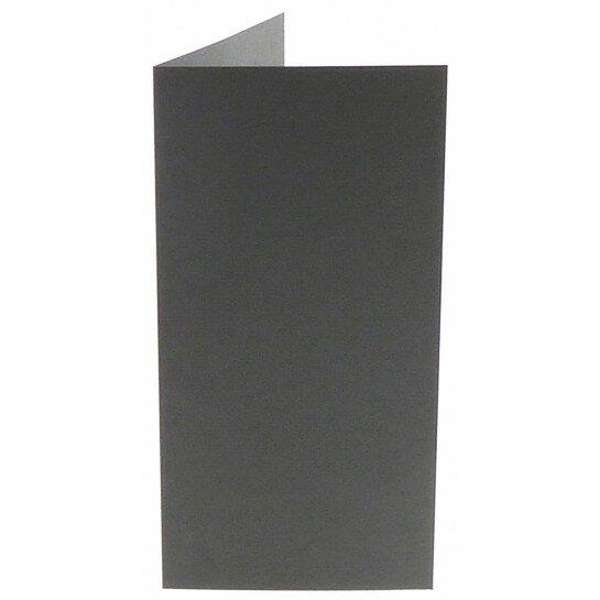 (No. 312971) 6x kaart dubbel staand Original 105x210mm EA5/6 donkergrijs 200 grams (FSC Mix Credit)