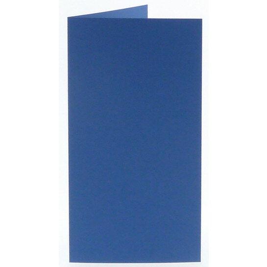 (No. 312972) 6x kaart dubbel staand Original 105x210mm (EA5/6) royal blue 200 grams (FSC Mix Credit)