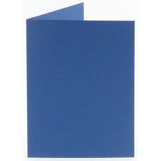 (No. 313972) 6x kaart dubbel staand Original 148x210mm A5 royal blue 200 grams (FSC Mix Credit)