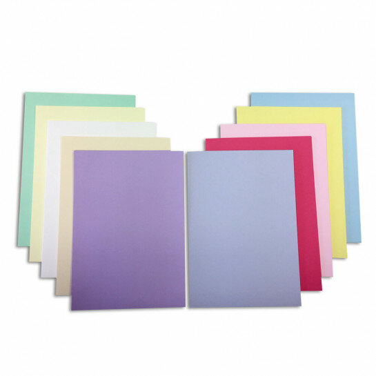 (No. 7148390) 70x karton ToPrint 160g 210x297mm-A4 Assorti - UITLOPEND-