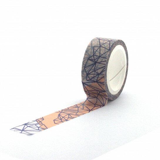 (No. 830903) Washi tape Graphic Grid