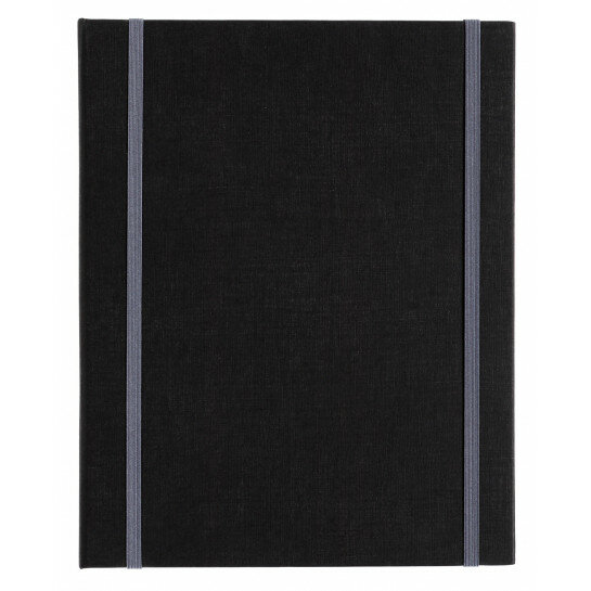 "(Art.no. 920500) Kunstenaarsmap A5 ""MyArtBook"" met 2x 6 rings O-Mechaniek en 2 elastieken"