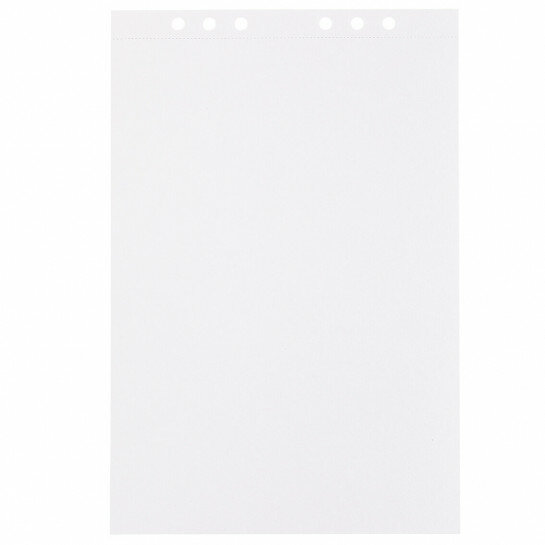 (Art.no. 920705) 10 vel MyArtBook Paper 200 GSM Ultrawhite Watercolour Paper Size 210 x 314 mm (A4) - 6 punch holes - perforation