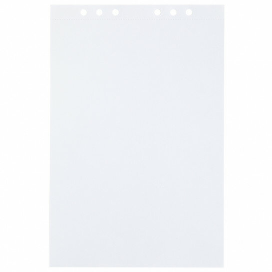 (Art.no. 920706) 20 vel MyArtBook Paper 160 GSM Ultrasmooth white Paper Size 210 x 314 mm (A4) - 6 punch holes - perforation