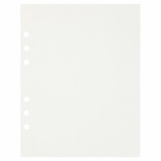 (Art.no. 920800) 10 vel MyArtBook Paper 200 GSM Watercolour Paper Size 165 x 210 mm (A5) - 6 punch holes - perforation