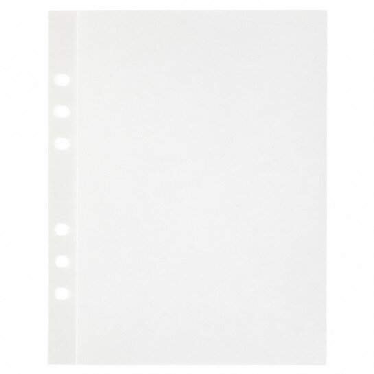 (Art.no. 920801) 20 vel MyArtBook Paper 140 GSM Curious Translucent Size 165 x 210 mm (A5) - 6 punch holes - perforation