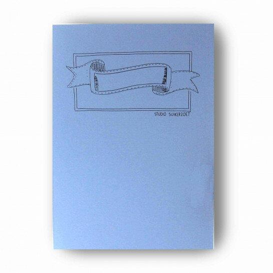 (No. 215500) A5 Oefenblok Handlettering pastel