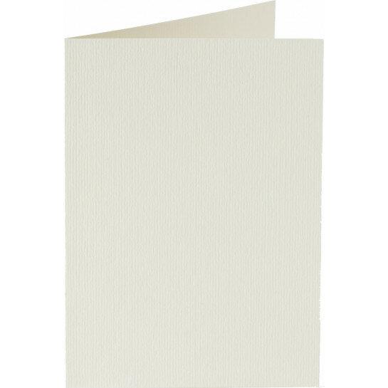 (No. 222903) 50x kaart dubbel staand 105x148mm- A6 anjerwit 200 grams (FSC Mix Credit)