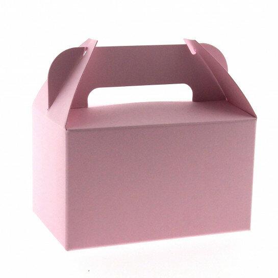 (No. 4438302) 5 medium bonbondoosjes roze