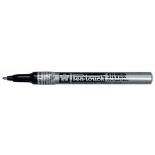 (No. 41302) Bruynzeel Pen Touch Silver fine