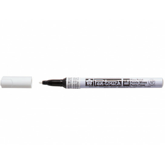 (No. 42300) Bruynzeel Pen Touch white fine