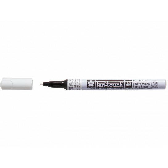 (No. 42300) Bruynzeel Pen Touch white fine
