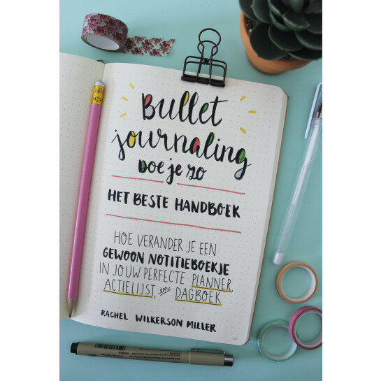 (No. 850100) Bullet journaling doe je zo