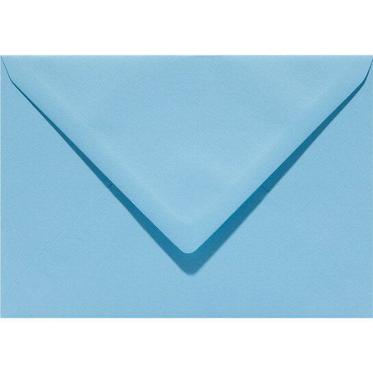 (No. 237942) 50x envelop 114x162mm-C6 Original celeste 105 grams (FSC Mix Credit) OP=OP