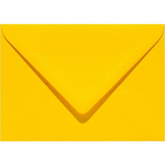 (No. 302910) 6x envelop Original 114x162mmC6 dottergeel 105 grams (FSC Mix Credit)