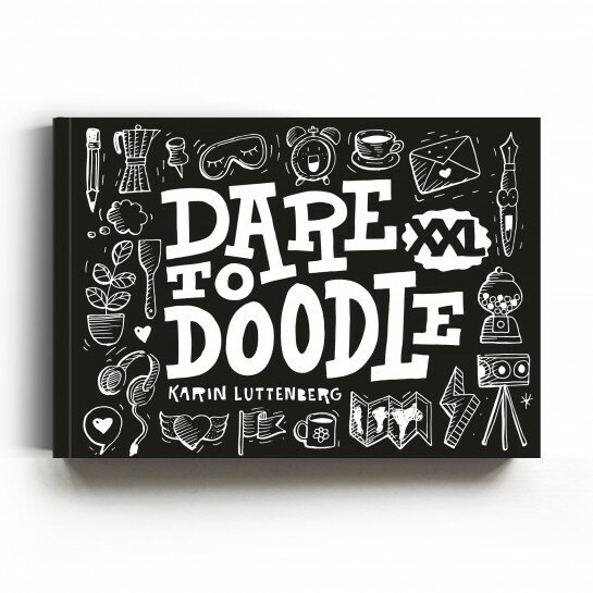 (No. 820608) Dare to Doodle - Paperfuel Karin Luttenberg | 9789078053316