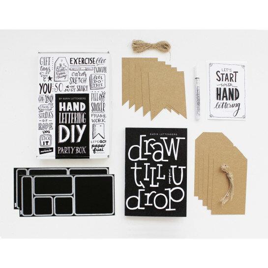 (No. 890006) DIY Handlettering Partybox Paperfuel