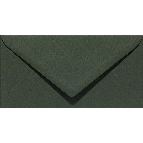 (No. 238945) 50x envelop 110x220mm-DL Original olijfgroen 105 grams (FSC Mix Credit)