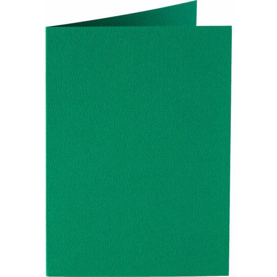 (No. 206916) 50x kaart dubbel staand Original 148x210mmA5 donkergroen 200 grams (FSC Mix Credit)