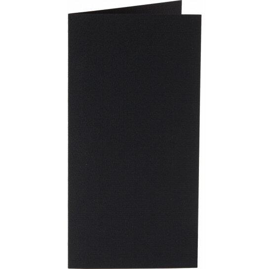 (No. 312901) 6x kaart dubbel staand Original 105x210mmA5/6 ravenzwart 200 grams (FSC Mix Credit)