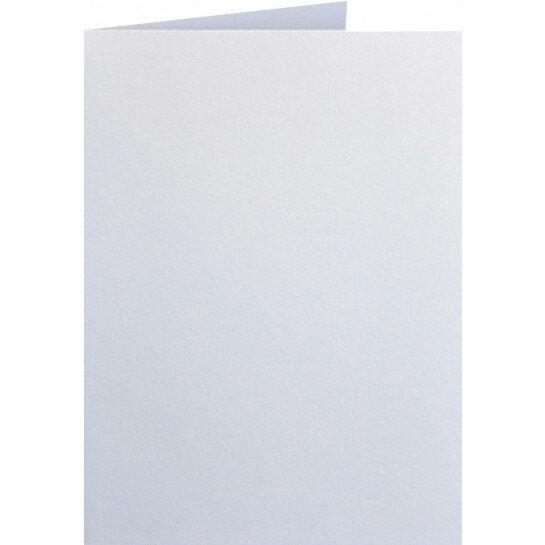 (No. 313330) 6x kaart dubbel staand Original Metallic 148x210mmA5 Pearlwhite 250 grams (FSC Mix Credit)