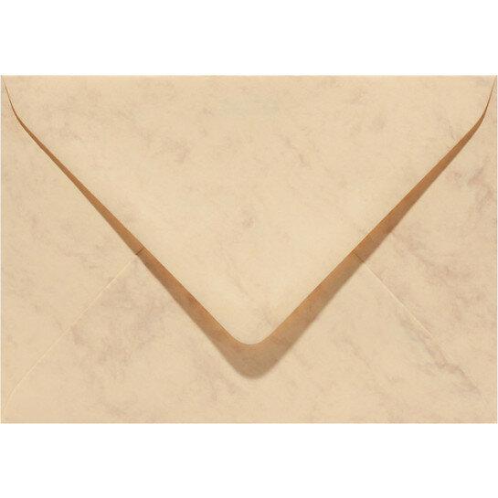 (No. 30663) 6x envelop Marble 156x220mm-EA5 okergeel 90 grams