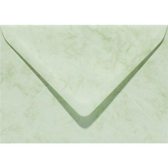 (No. 30667) 6x envelop Marble 156x220mm-EA5 appelgroen 90 grams