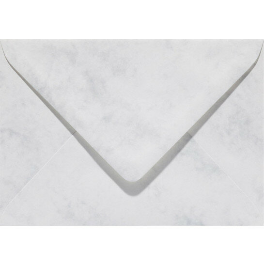 (No. 30661) 6x envelop Marble 156x220mm-EA5 grijswit 90 grams