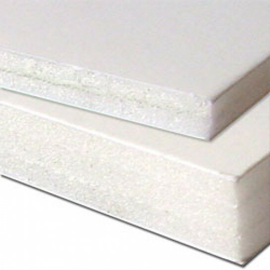 (No. 282520) 2 vel foambord 5mm 297x420mm-A3 wit