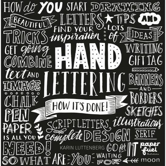 (No. 840600) Handlettering how it's done Engelse versie