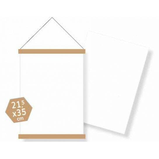 (No. 860004) DIY Posters Blank canvas Legal Carla Kamphuis